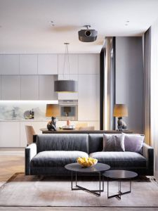 Apartment Interior Design New Home Design Under 60 Square Meters 3 Examples that