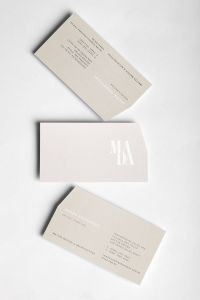 Architecture Business Cards New Mada On Behance