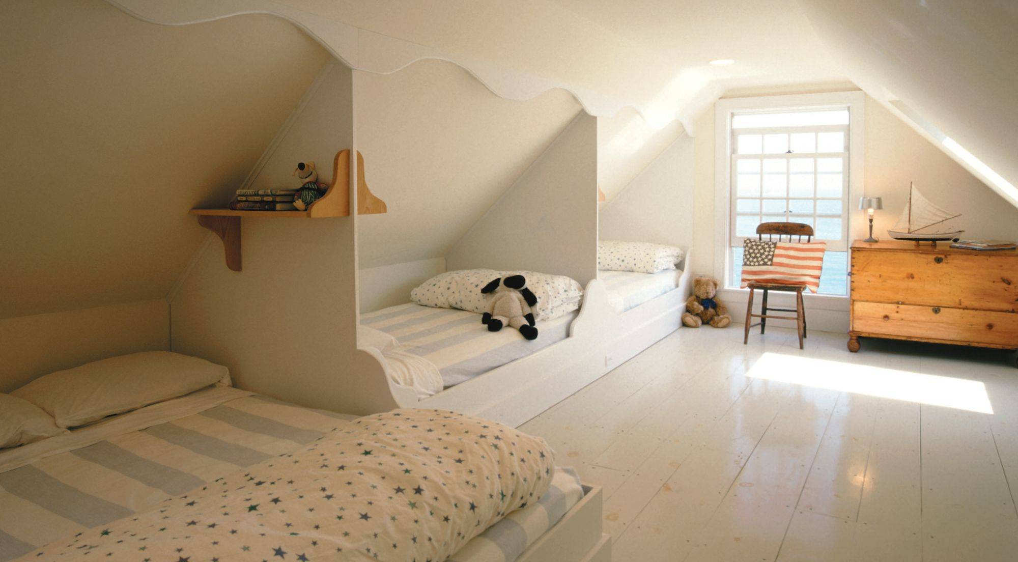 Attic Bedroom Elegant Built In attic Beds