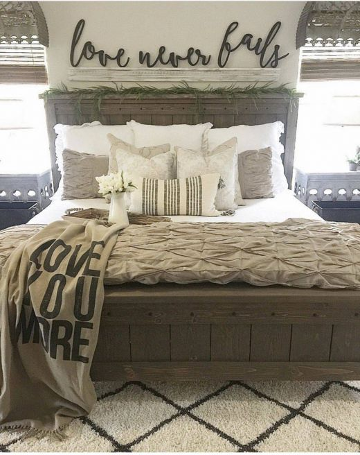 Awesome Bedroom Ideas Inspirational Farmhouse Bed 1327