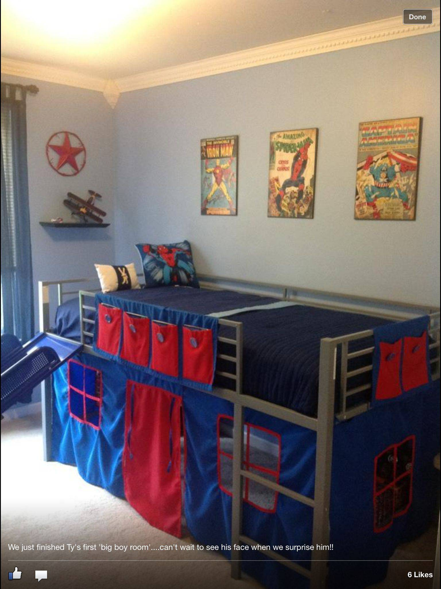 Awesome Beds Elegant Boys Super Hero Loft Bedroom Junior Fantasy Loft Bed with