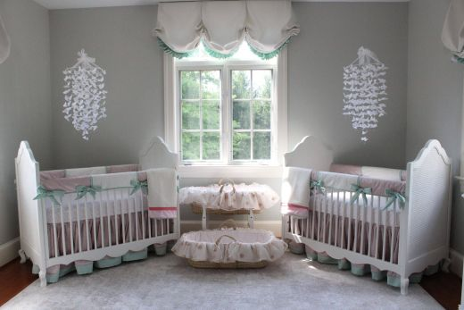 Baby Girl Bedroom Ideas Elegant Katz Twin Nursery Reveal