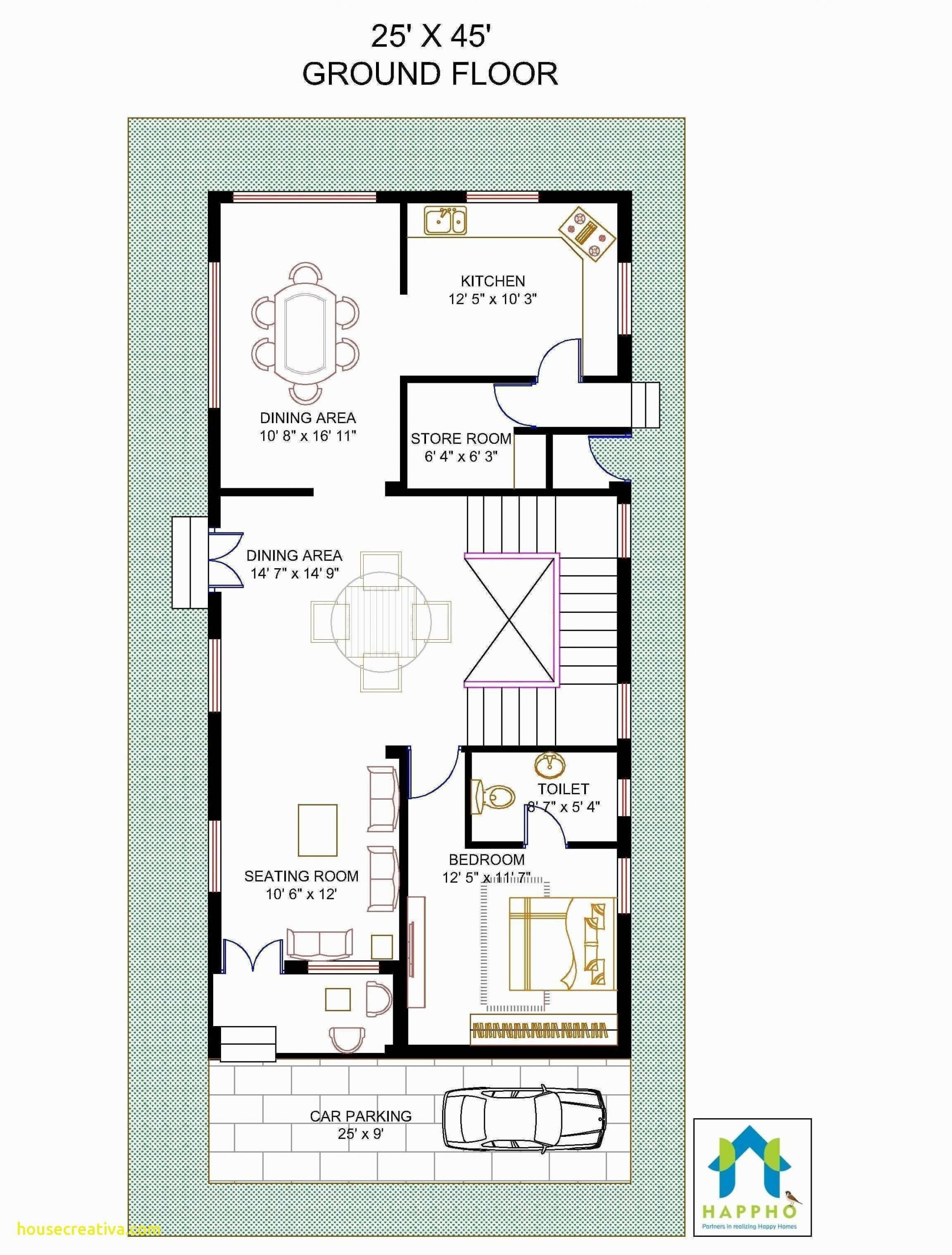Beautiful 3 Bhk Duplex House Plan Unique 1200 Sq Foot House Plans Unique 500 600 Sq Ft House Plans