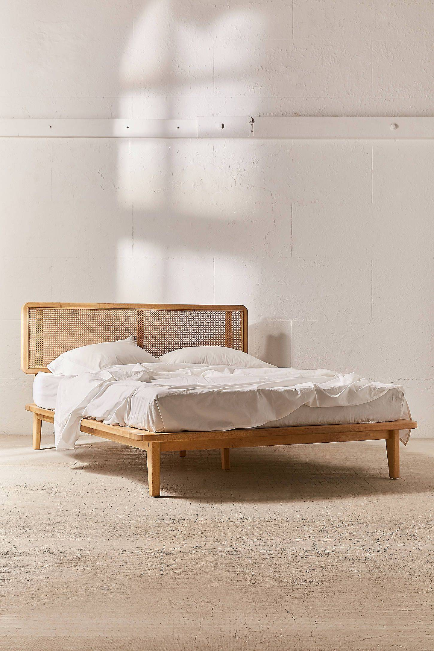 Bed Frame with Headboard New Marte Platform Bed