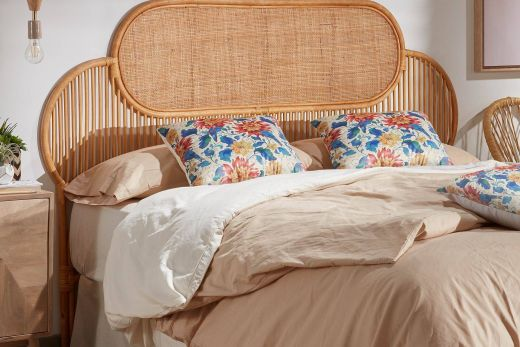 Beds & Bed Frames Best Of Natural Lalita Headboard 170 X 120 Cm