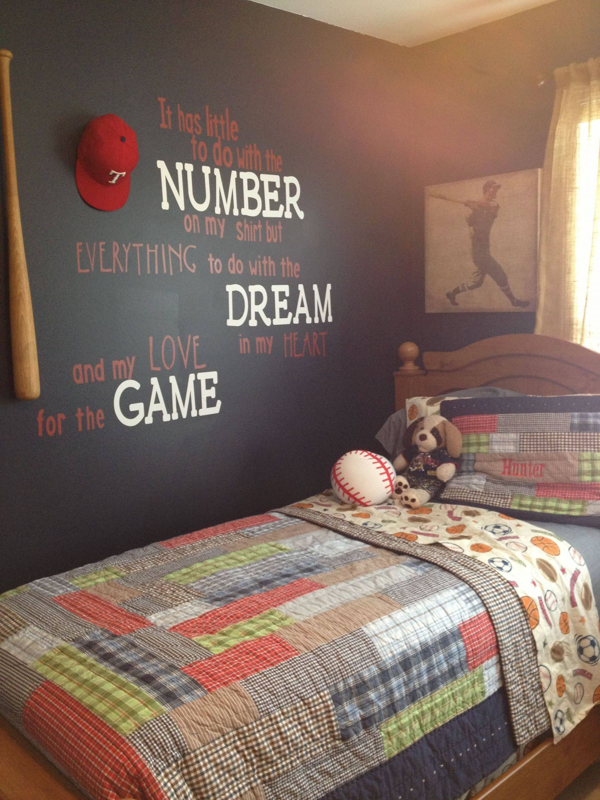 Boys Room Ideas Beautiful Baseball Room
