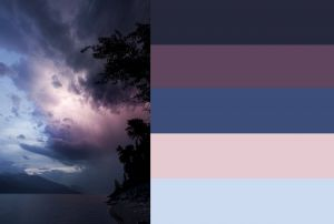 Calming Colors Best Of Stormy Sky Colours