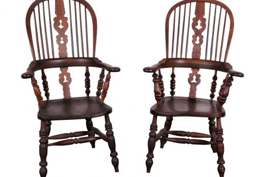 Chair Fresh Pair Of Antique Oak Windsor Chairs with Turned Legs