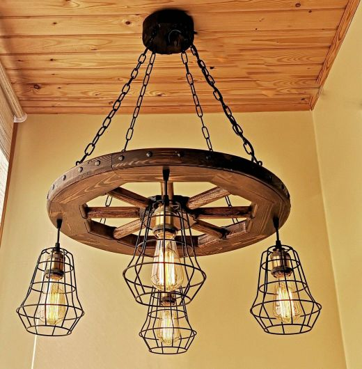 Cheese Grater Light Fixture Inspirational Rustic Lighting Wagon Wheel Chandelier