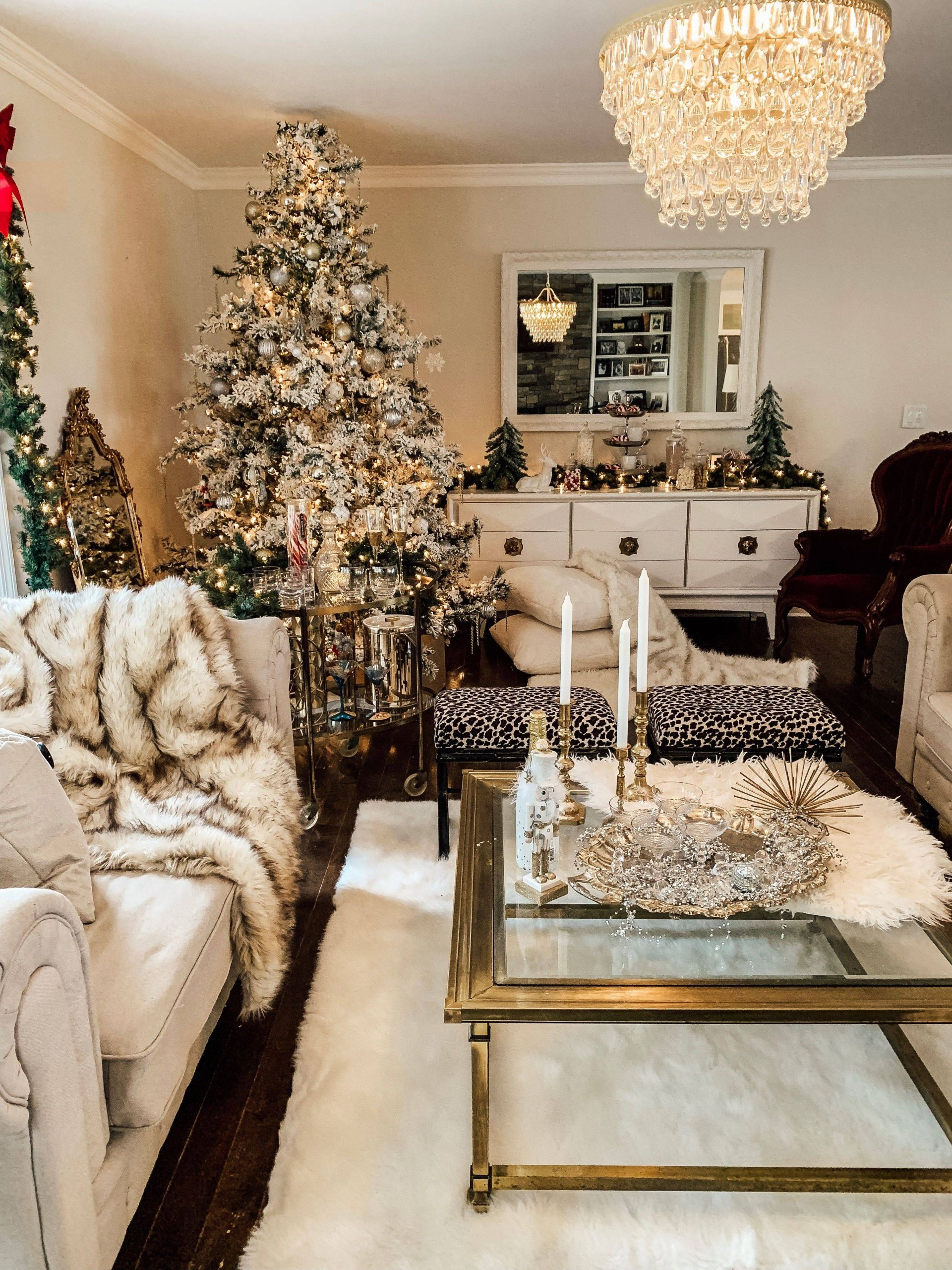Christmas Living Room Lovely Christmas Living Room Glamour 🎄