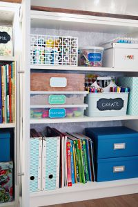 Closet organizing Ideas New Craft Cabinet organization Ideas Michaels Craft Store