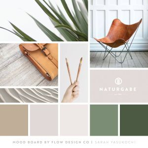 Color and Mood New Earth tones Mood Board