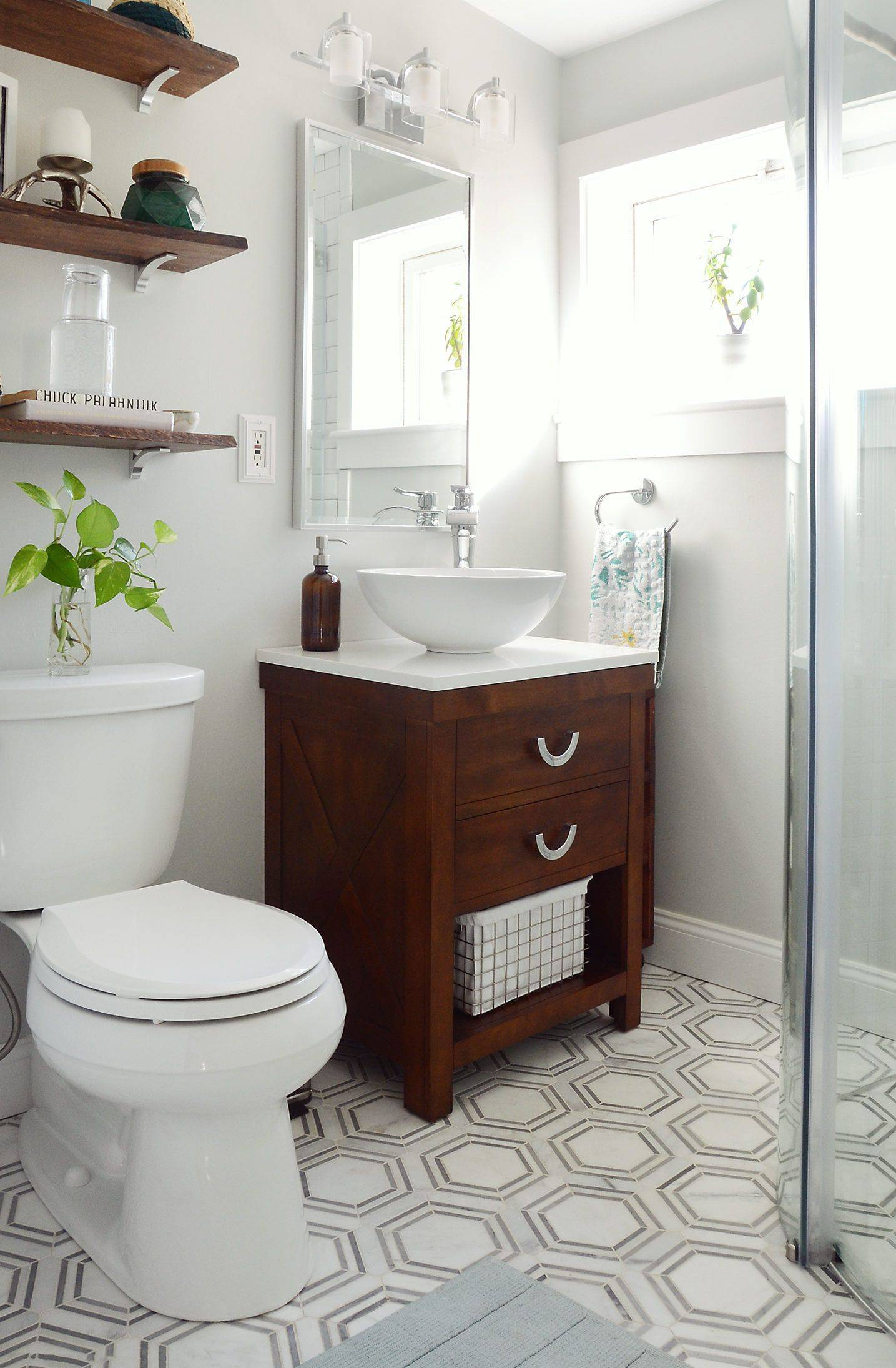 Compact Bathrooms Inspirational E Room Challenge Small Bathroom Makeover Reveal