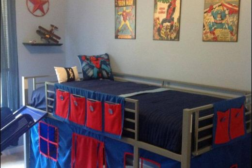 Cool Beds for Teens Lovely Boys Super Hero Loft Bedroom Junior Fantasy Loft Bed with