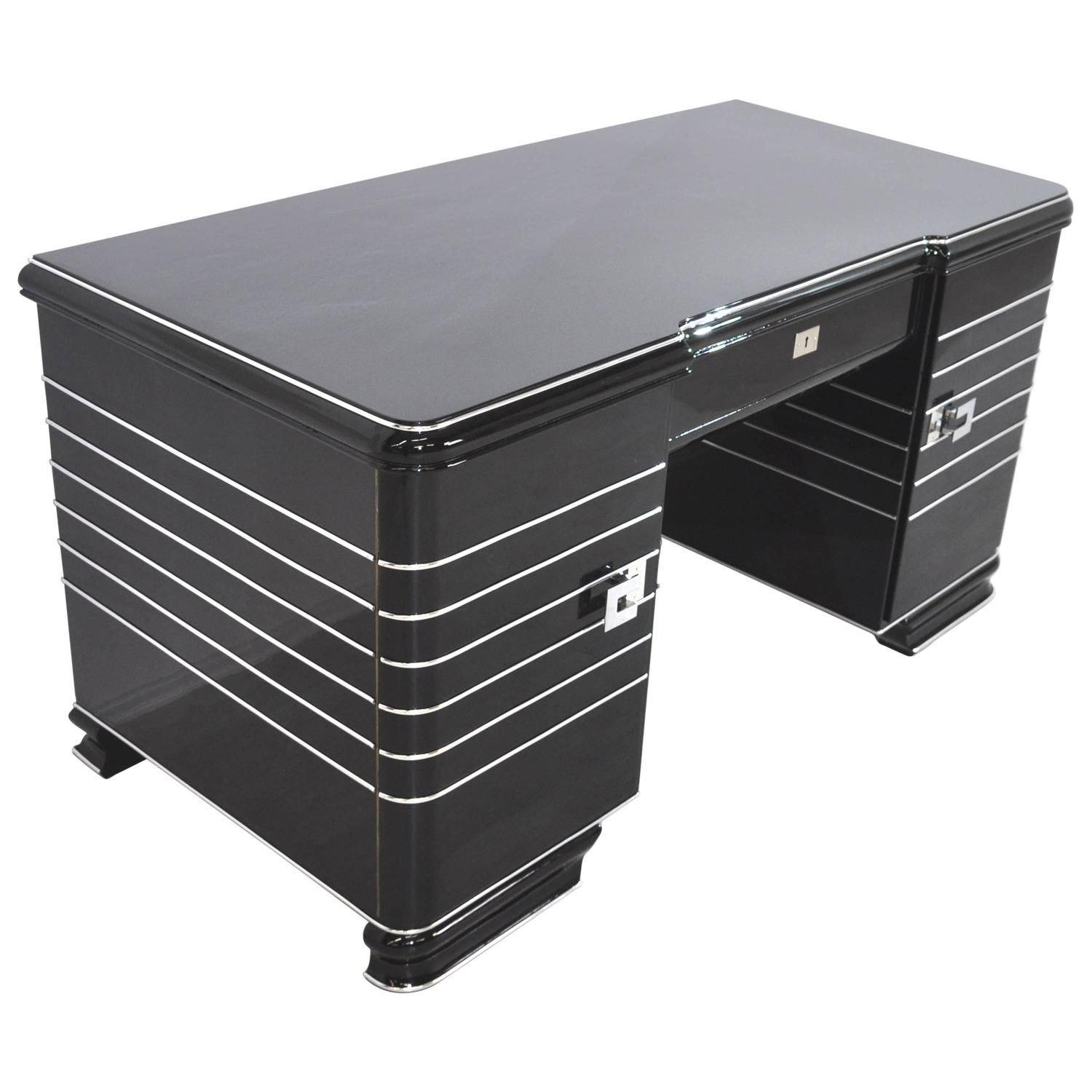 Cool Desks Best Of Chrome Liner Art Deco Desk
