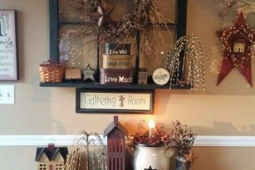Country Decor Beautiful Love This Look 3