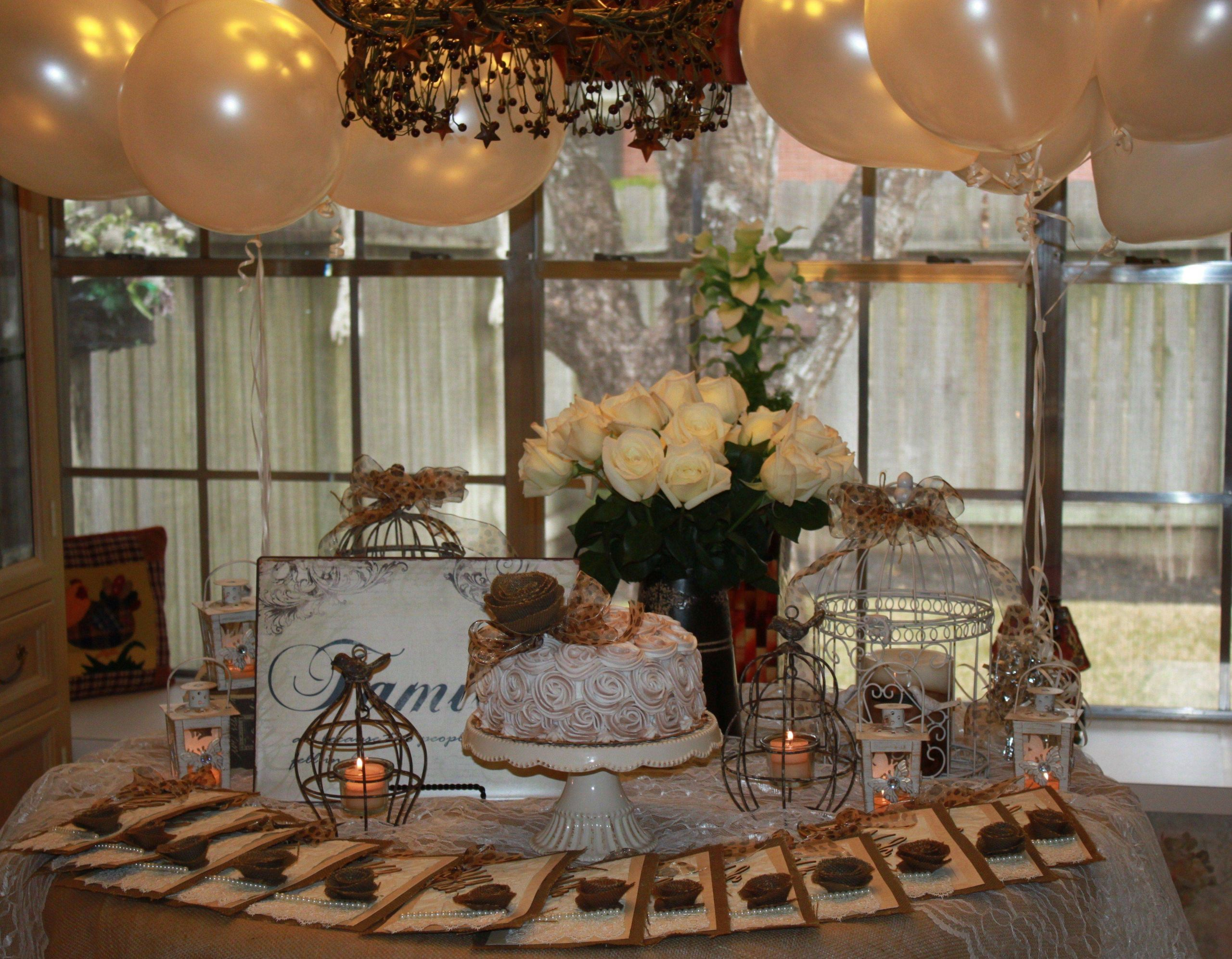 Decoration Ideas Lovely Birthday Decoration Ideas at Home Lantern Decoration Ideas New A Vintage Garden themed Party for Mom S 75th Birthday