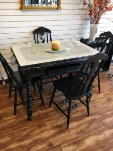 Dining Room Furniture Unique 1940 S Metal top Kitchen Table W 4 Chairs $150 00