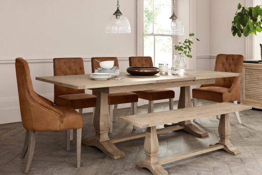 Dining Room Tables Beautiful Buy Hardwick 6 10 Seater Extending Dining Table From the
