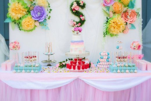 Elegant Tea Party Bridal Shower Decorations New Tea Party Baby Shower Shower themes Dessert Table Party