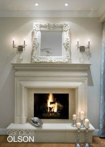 Fireplaces with Stone Beautiful A Beautiful Cast Stone Surround and Hearth Look Like Hand