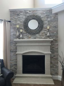 Fireplaces with Stone Beautiful Most Current Ledger Stone Fireplace Suggestions