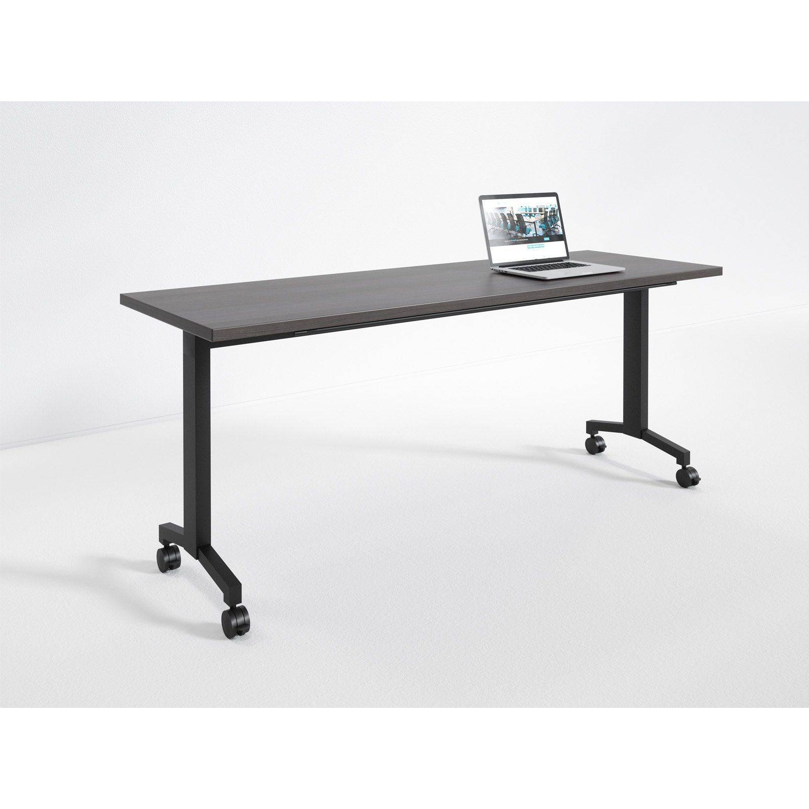 Flip the Table Inspirational Rightangle Flip Training Table with Casters