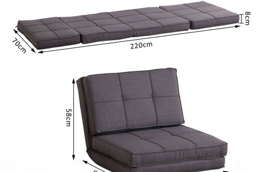 Folding Bed Best Of Hom Single sofa Bed Fold Out Guest Chair Foldable Futon