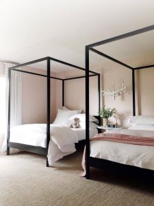 Four Poster Bed Canopy Unique Cabana Canopy Bed No Footboard In 2020