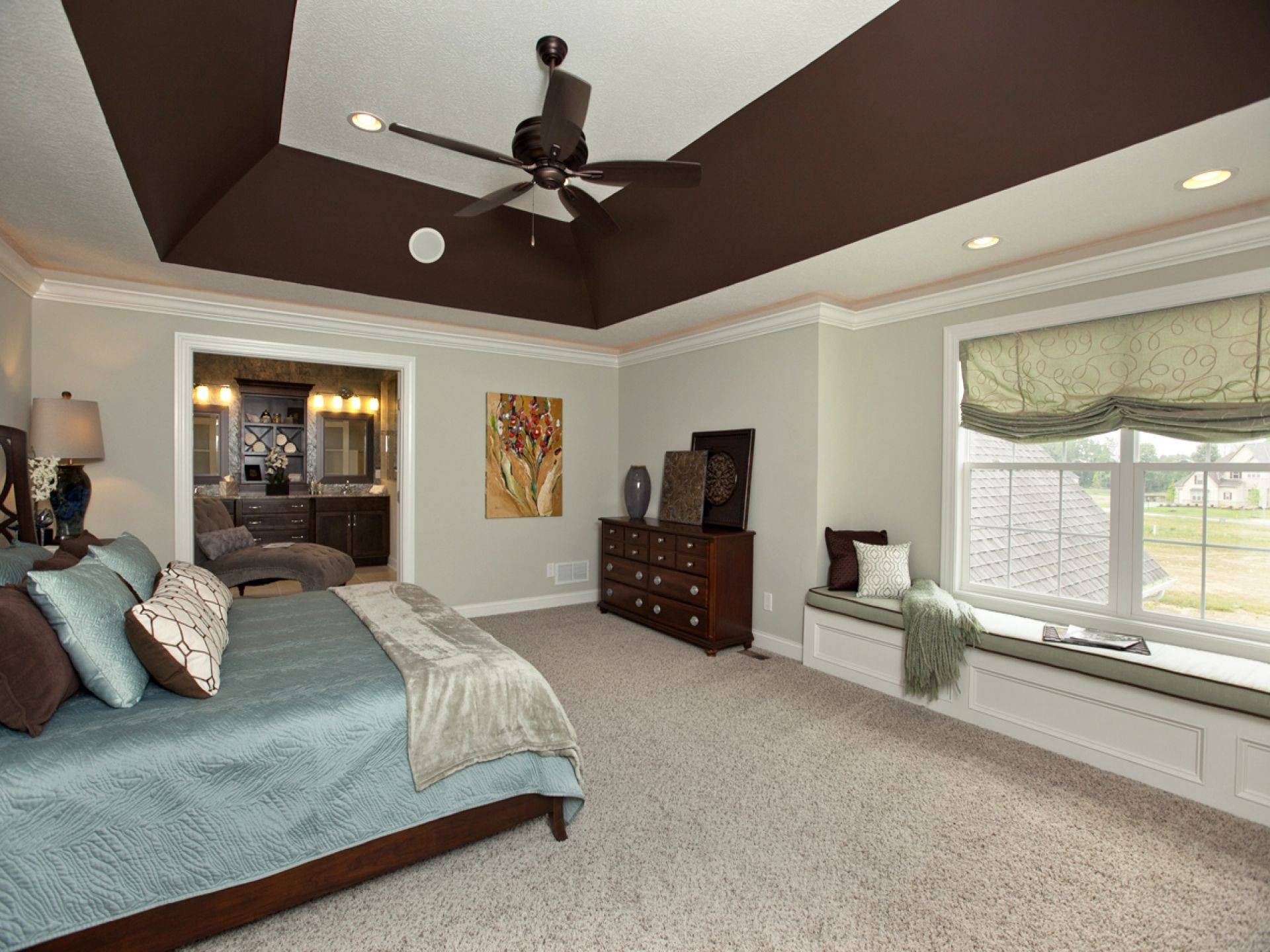 Fresh Lighting Ideas for Pitched Ceilings Best Of Deep Angled Tray Ceiling In Master Bedroom 3 Pillar Homes