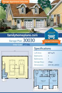 House Amenities Beautiful Saltbox Style 2 Car Garage Apartment Plan Number with