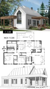 House Layout Ideas Unique Modern One Story House Plan with Lots Of Natural Light