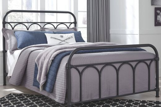 Iron Bed Inspirational Nashburg Full Metal Bed Black
