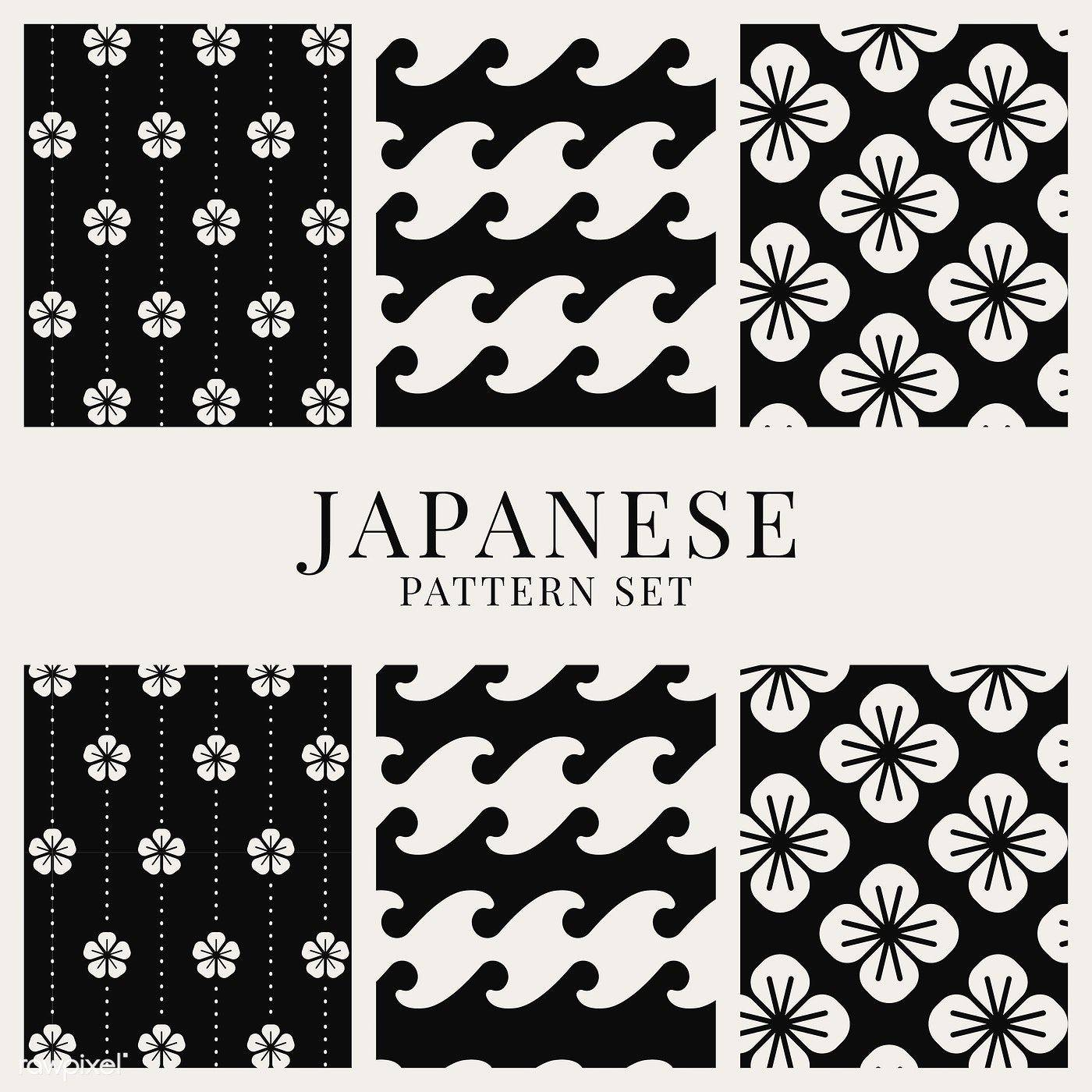 Japanese Designs Fresh Download Premium Vector Of Japanese Inspired Pattern Vector