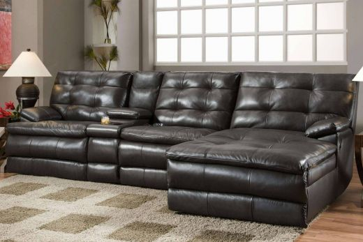 Leather Sectional sofa Elegant Unique Country French Chandeliers