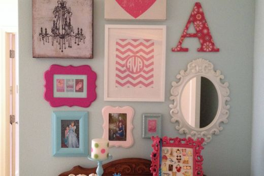 Little Girls Room Luxury Girls Room Gallery Wall