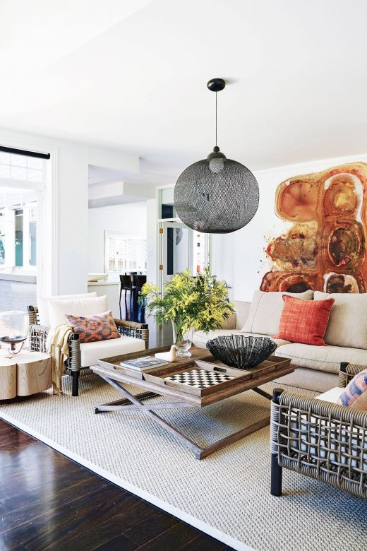 Living Room Decor Styles Inspirational Modern Hamptons Style Home In Sydney