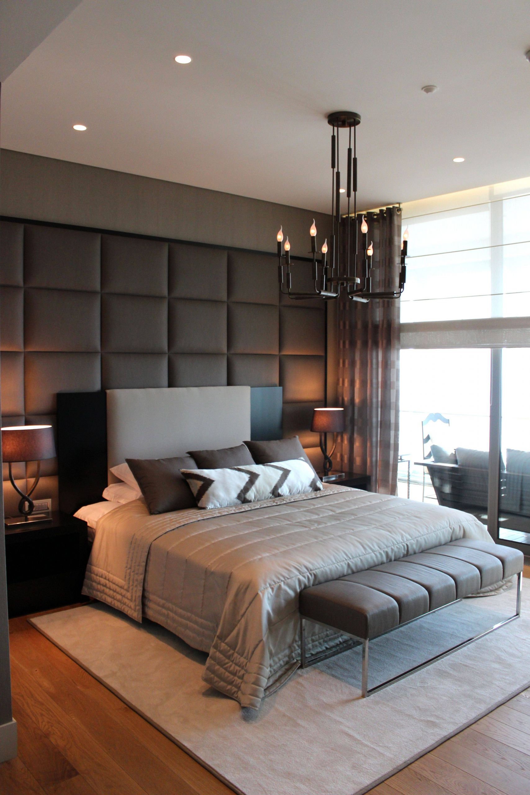 Manly Bedroom Elegant Modern Bedroom
