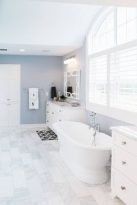 Marble Bathroom Beautiful Stunning Master Bathroom with Marble Flooring Gorgeous