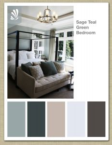 Masculine Bedroom Colors Beautiful Sage Cream Oil Gray and Teal Green Color Palette soothing