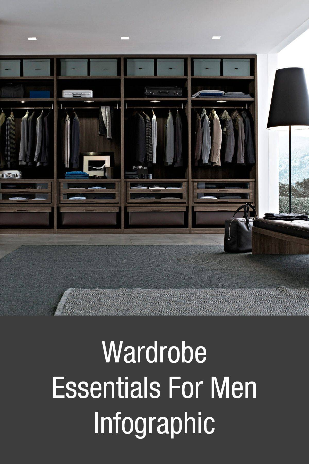 Mens Walk In Closet Elegant Build Your Wardrobe From the Ground Up Wardrobe Essentials