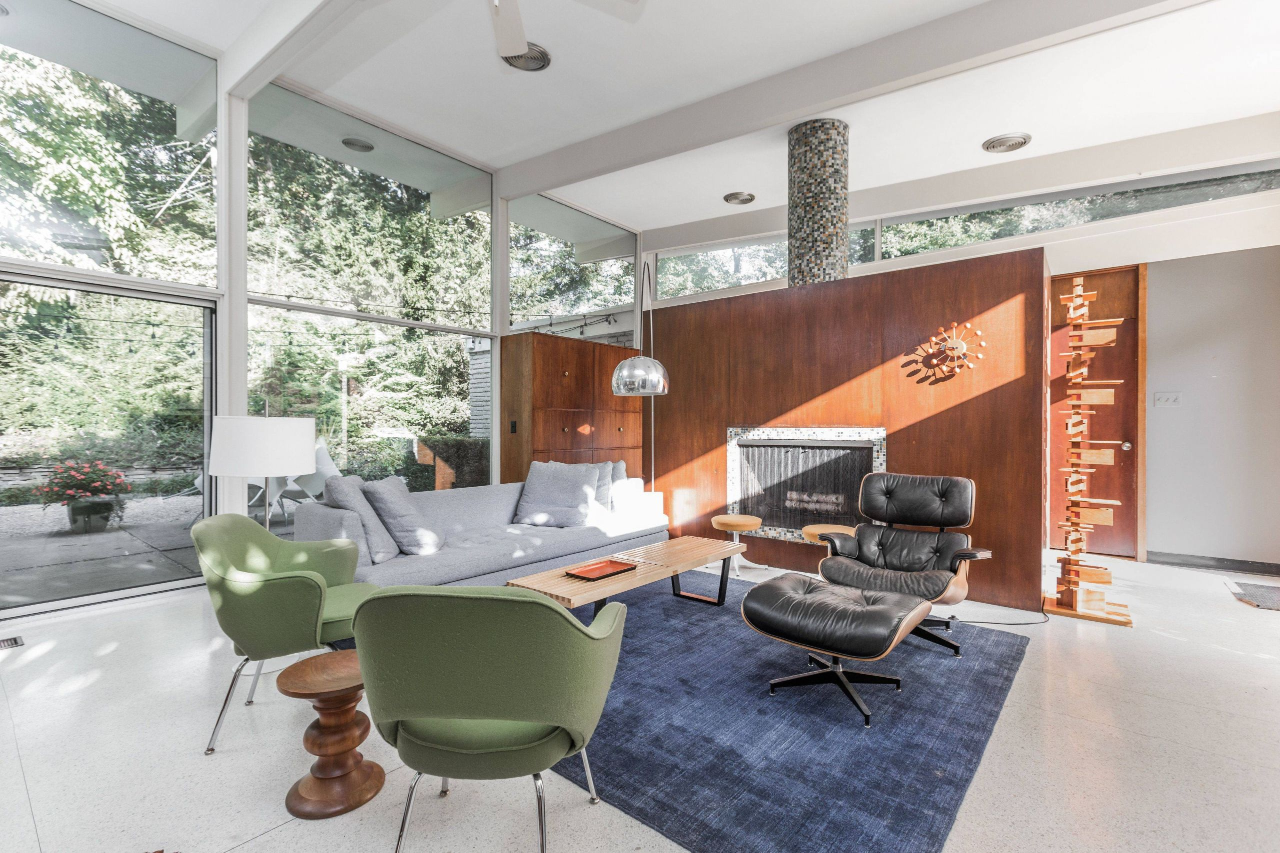 Mid Century Modern Fireplace Lovely 2 Of 10 In A Midcentury Gem by A Famed Indiana