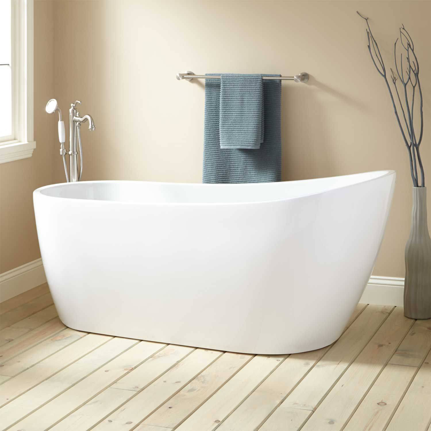 Modern Slipper Tub Beautiful Boyce Acrylic Freestanding Tub Bathtubs Bathroom
