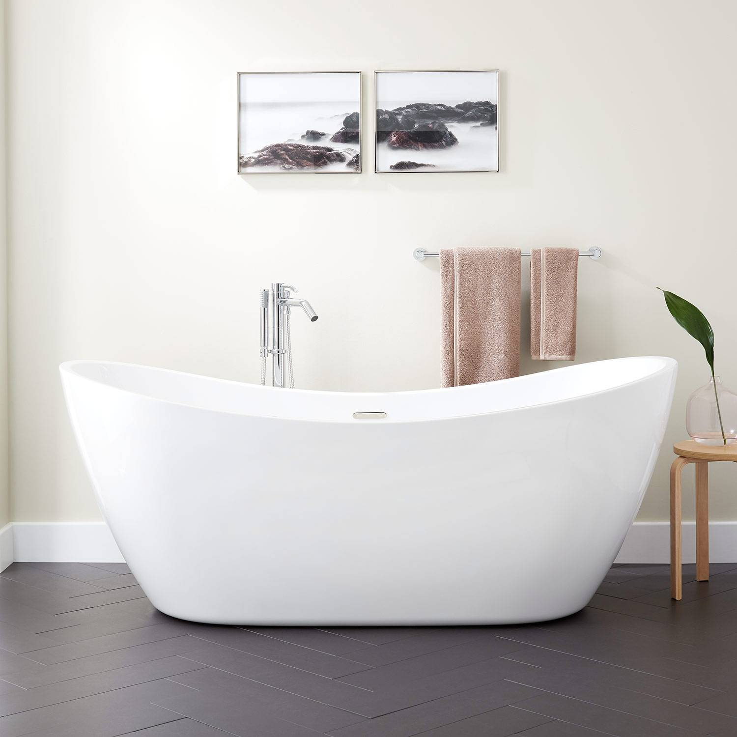 72 double freestanding tub 1