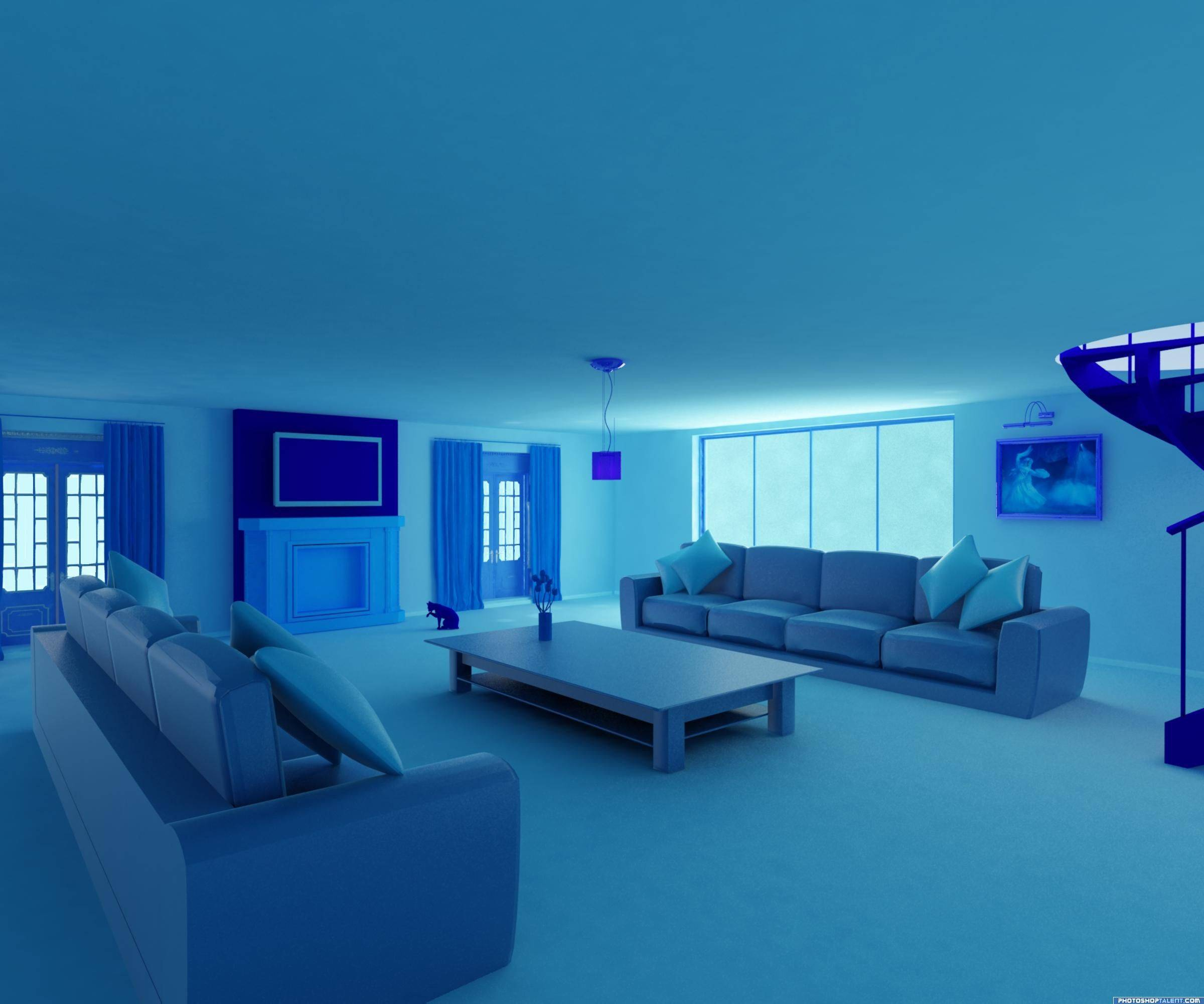Monochromatic Rooms Elegant Blue Room Google Search