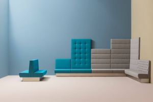 Multipurpose Furniture Awesome Modus is A soft Sitting System Posed by Modular Units