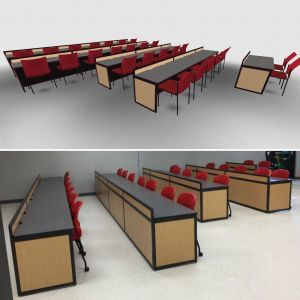 Multipurpose Furniture Fresh Puter Lab Furniture Customized for Any Space by In 2020