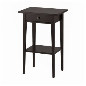 Narrow Bedside Table Best Of Hemnes Bedside Table Black Brown 46x35 Cm