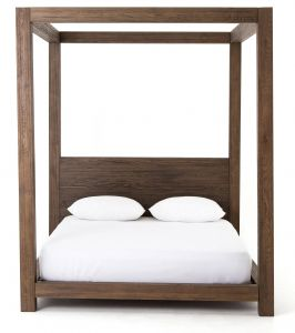 Outdoor Canopy Bed New A Simple Four Poster Canopy Bedframe In solid Oak Makes An