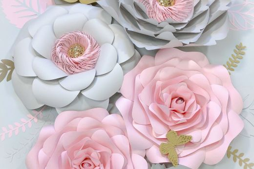 Paper Flowers Decorations Wedding Inspirational Pin On Paper Flower Decor Ivacrafts